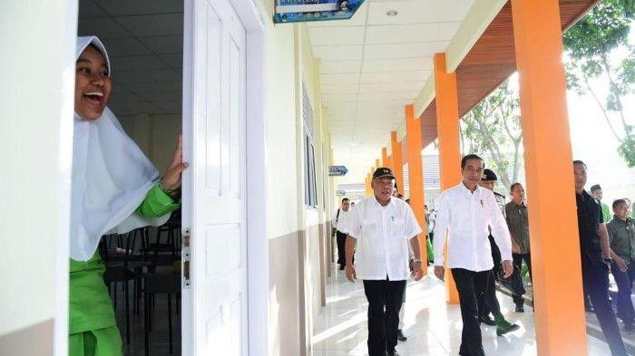 Jokowi Berbangga Hati, Ribuan Sekolah dan Ratusan Madrasah Telah Selesai Direnovasi Kementerian PUPR