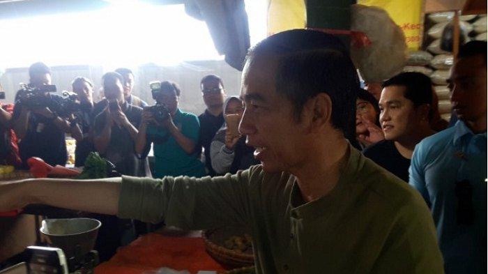 Jokowi Dorong Pedagang Pasar Tradisional Berjualan Secara Online