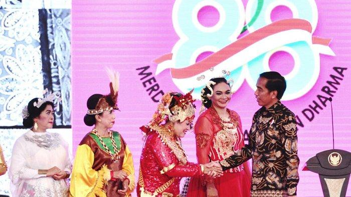 Jokowi: Teruslah Menjadi Ibu Hebat Agar Indonesia Semakin Hebat