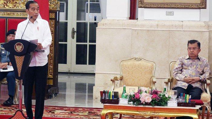 Jokowi Susun Ulang Nama-nama Menteri Kabinet Kerja Jilid ll Setelah Bertemu SBY