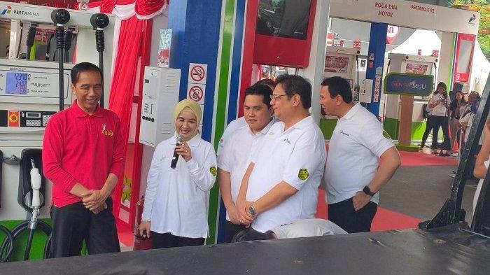 Resmikan Implementasi B30, Jokowi: Kita Mau Keluar dari Rezim Impor Atau Tidak?
