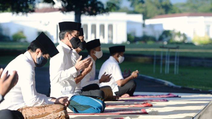 Seperti Tahun Lalu, Besok Jokowi dan Keluarga Salat Idul Fitri di Istana Bogor