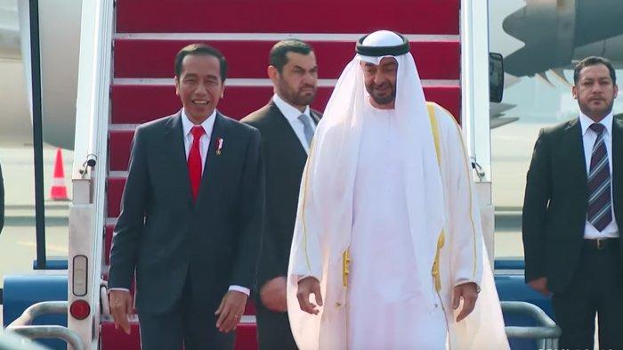 Sambut Istimewa Putra Mahkota Abu Dhabi, Ini Sosok Sheikh Mohammed yang Pernah Bikin Jokowi Degdegan