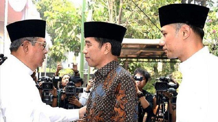 Melayat ke Cikeas, Jokowi Ungkap Hubungan Bung Karno dan SBY
