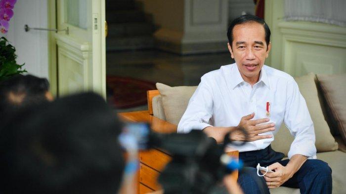 Presiden Jokowi Tegaskan Bolak-Balik Saya Tidak Mau Jadi Presiden Tiga Periode