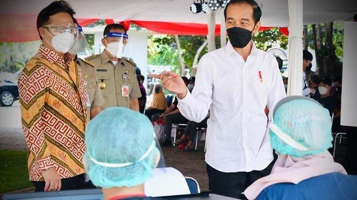 Jokowi Minta Jakarta Vaksinasi 100 Ribu Orang per Hari Mulai Pekan Depan, Sanggup?