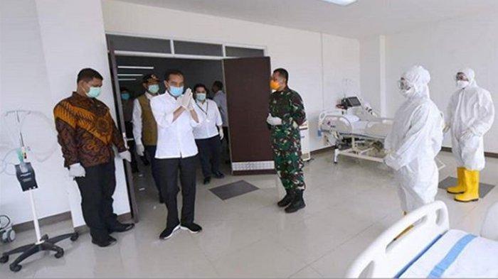 Jokowi Sampaikan Duka Cita Atas Meninggal Dunia Dokter yang Terinfeksi Virus Corona