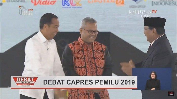 Simak Visi Misi Jokowi Vs Prabowo Subianto serta Link YouTube dan Link Live Streaming Debat Keempat