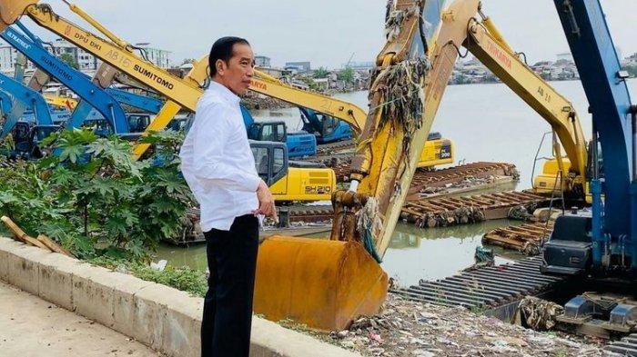 Jokowi: Mau Normalisasi Atau Naturalisasi, 14 Sungai di Jakarta Harus Segera Dilebarkan