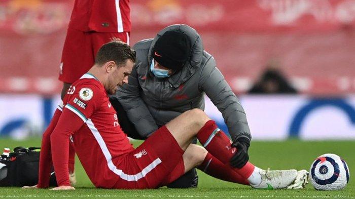 Jurgen Klopp Kuatir Cedera Jordan Henderson Menambah Buruk Lini Pertahanan Liverpool