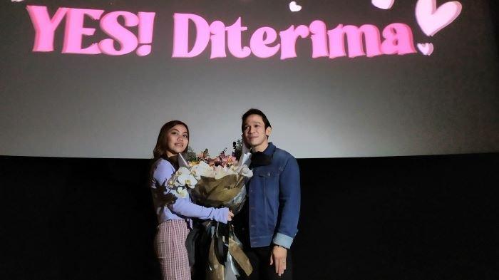 Frislly Herlind 'Ditembak' Jordi Onsu di Bioskop, Menangis Punya Pacar Lagi Setelah 2 Tahun Jomblo