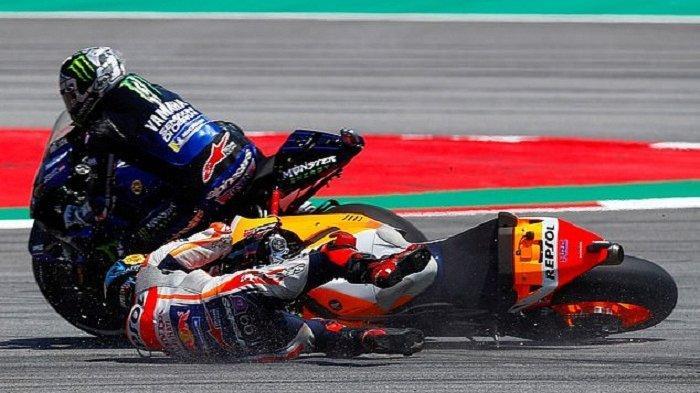 MotoGP Catalunya, Meski Jorge Lorenzo Minta Maaf, Maverick Vinales: Dia Harus Dihukum