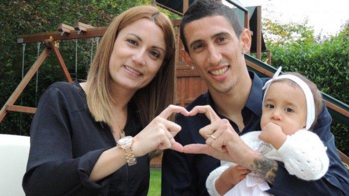 Istri Penyerang PSG Angel Di Maria Sebut Makanan di Manchester Jijik, Ia Tidak Ingin ke Inggris