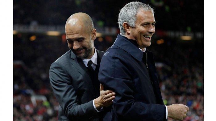 Jose Mourinho dan Pep Guardiola selalu bersaing dalam menangani sebuah tim