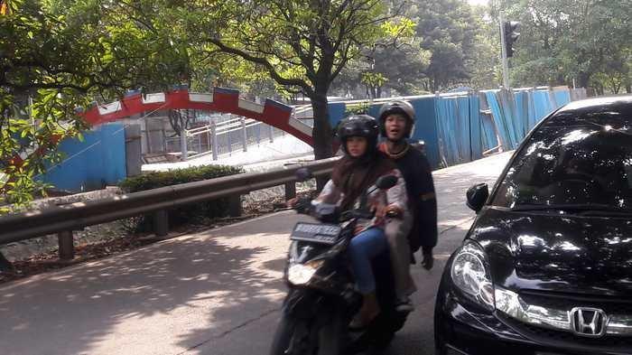 JPO Canggih Buatan Jepang Dibangun di Tangerang