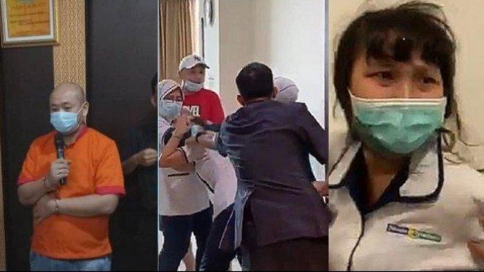 Pelaku Penganiayaan Perawat RS Siloam Sriwijaya Palembang Minta Maaf: Saya Emosi, Saya Minta Maaf