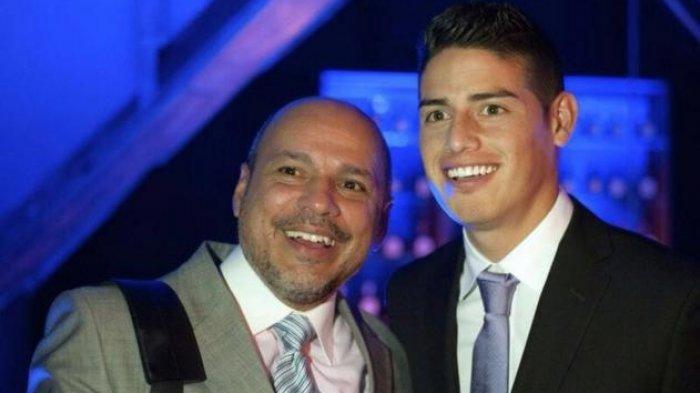 Ayah Tiri Ungkap James Rodriguez Dilarang Pindah ke Atletico Madrid