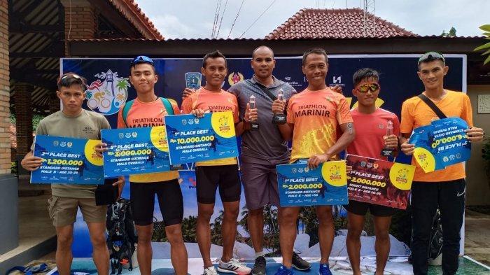 Kopda Marinir Dedi Pristyoko Berhasil Rebut Juara 1 Belitung International Triathlon 2019