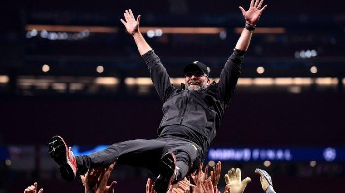 Juergen Klopp Akhirnya Merasakan Juara Liga Champions Setelah 6 Kali Gagal