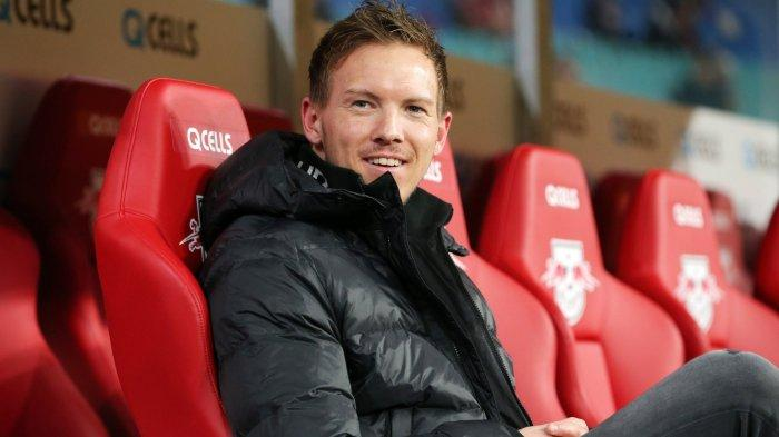 Mantan Pelatih RB Leipzig, Julian Nagelsmann, yang kini membesut Bayern Munich. Ia sebut Barcelona lebih kuat jika ada Messi