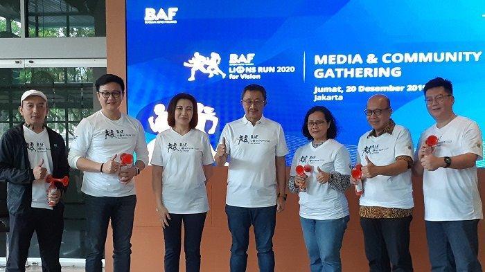 Yuk, Ikut BAF Lions Run 2020,Lari Sambil Donasi untuk Kesehatan Mata Anak Indonesia