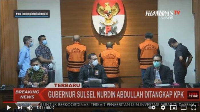 Breaking News: KPK Tetapkan Tiga Tersangka, Termasuk Nurdin Abdullah, Kantor PUPR Sulsel Disegel