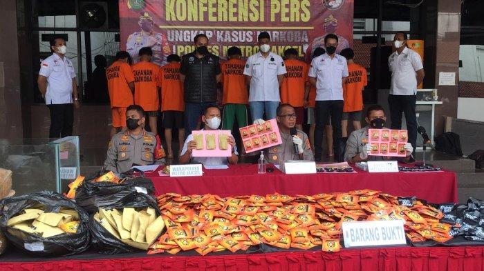 Polres Jaksel Sukses Ungkap Peredaran Narkoba di Wilayah Ibukota dan Jawa Barat Senilai Rp 15 Miliar