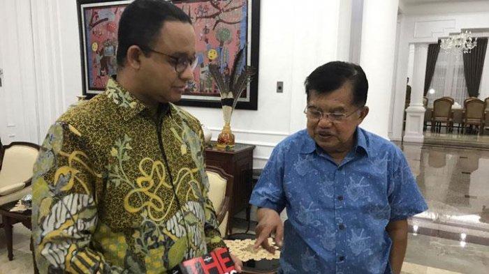 Jusuf Kalla Mengaku Dekat dengan Anies Baswedan, Soal Calon Presiden 2024: Siapa Saja Bisa!