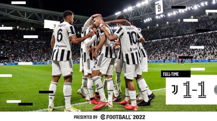 Gagal Pertahankan Kemenangan Lawan AC Milan 1-1, Juventus Masih Terdampar di Papan Bawah Klasemen