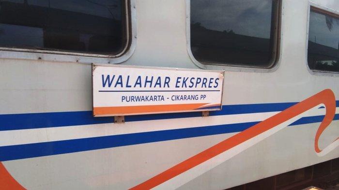 KA Walahar Ekspres (Purwakarta-Cikarang) kembali beroperasi mulai Rabu (22/9/2021).
