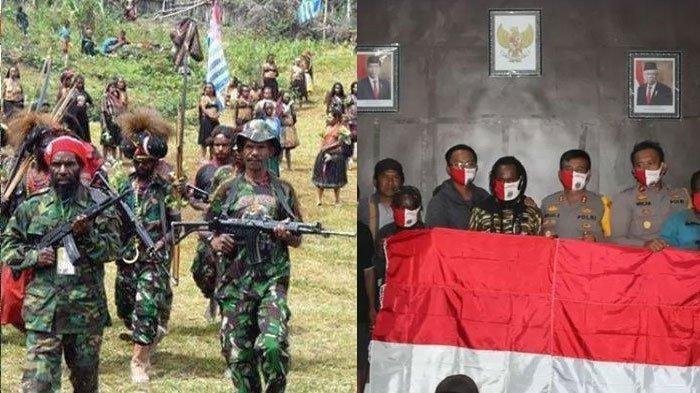Kabar Anggota KKB Papua Kembali ke NKRI Tanpa Paksaan Bikin Haru, Langsung Dapat Paket Sembako