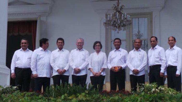 Beredar Nama-nama Menteri Kabinet Kerja 2, Begini Kejanggalan dan Tanggapan Istana