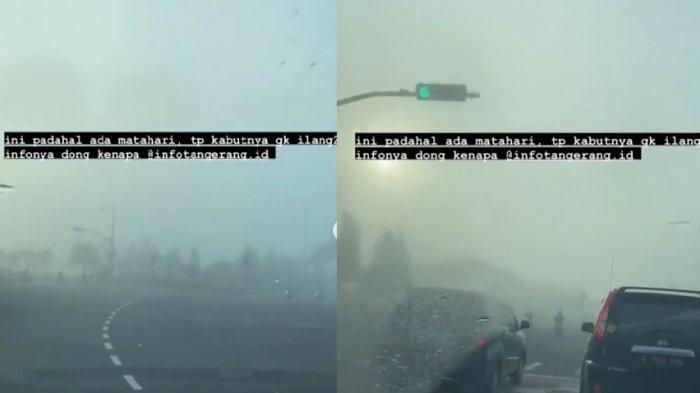 Heboh Kabut di Tangsel Meski Muncul Matahari, BMKG Sebut karena Suhu Udara Rendah Saat Itu