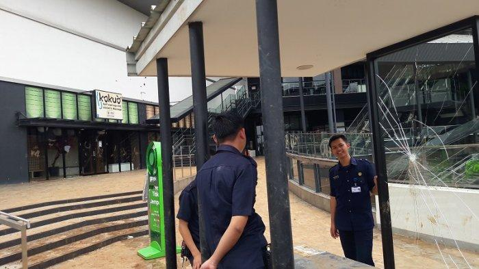 Aeon Mall Ditutup Karyawannya Dipulangkan, Satu Terduga Pelaku Pengrusakan Diamankan Polisi