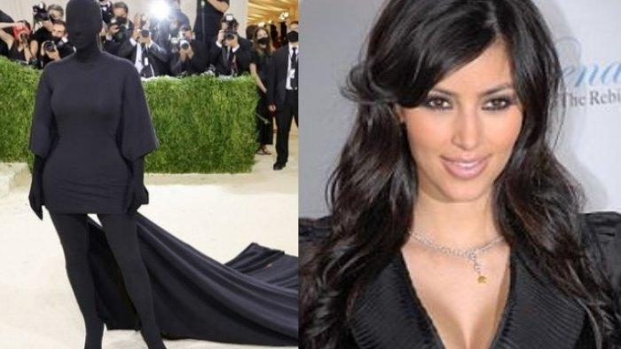 Kim Kadarshian Trending karena Busana di Met Gala 2021, Masya Allah Umi Kim Kardashian Tutup Aurat
