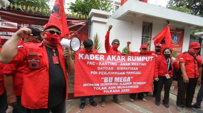 Kader DPC PDIP Kota Tangsel Protes Surat Rekomendasi DPP soal Kandidat Pilkada, Ini Alasannya