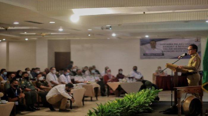 Kadin Kota Bogor menggelar Musyawarah Kota (Mukota) VII di Hotel Salak the Heritage, Jalan Ir Juanda, Kota Bogor, Senin (5/4/2021).