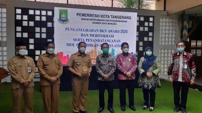 Kado Terindah Kota Tangerang Raih BKN Award di HUT ke- 28