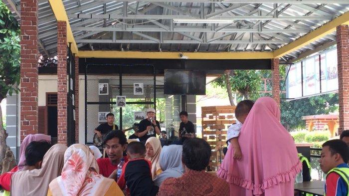 Lembaga Pembinaan Khusus Anak (LPKA) Kelas I Tangerang Luncurkan Cafe Kunjungan.