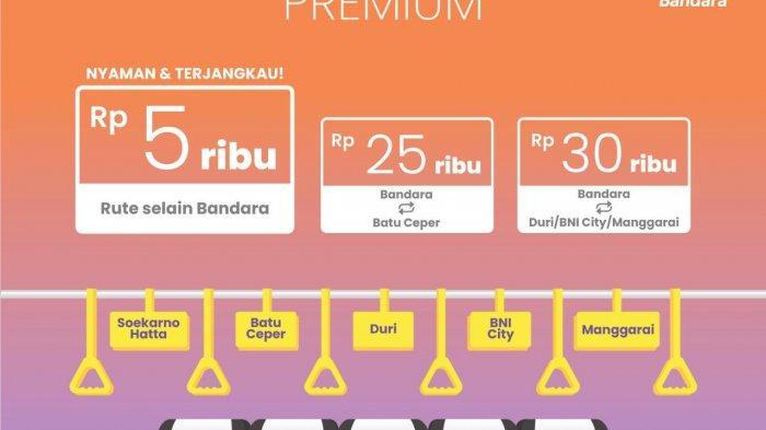 Jadwal Uji Coba KAI Bandara Premium Berlaku Mulai 1 April 2021