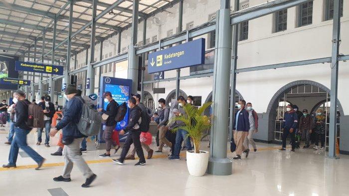 Penumpang KA Jarak Jauh yang Berangkat dari Jakarta Selama Mudik Lebaran Dipastikan Terverifikasi