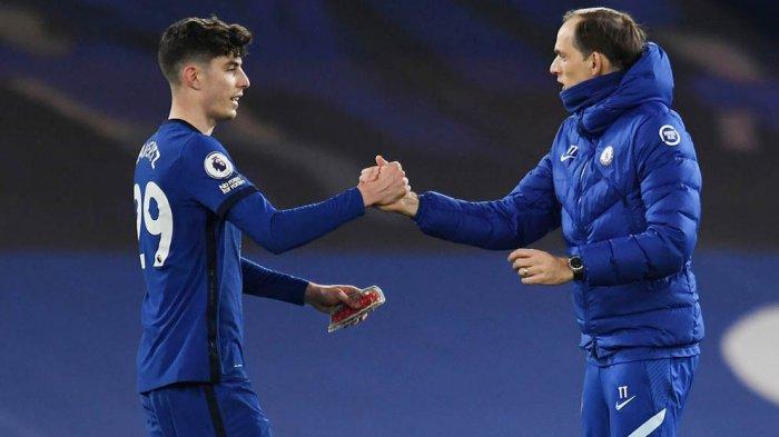 Kalahkan Fulham 2-0 Lewat Gol-Gol Kai Havertz, Chelsea Kian Tak Terkejar di Zona Liga Champions