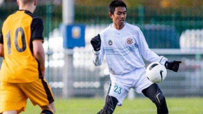 Kakang Rudianto salah satu dari tiga pemain Persib yang ikut TC Timnas U-19 di Spanyol