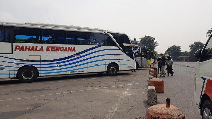 Hari Pertama Larangan Mudik Terminal Kalideres Berangkatkan 5 Bus AKAP Isi 9 Penumpang