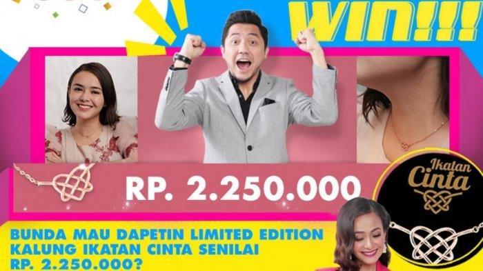 Ayo Bunda Tonton The Voice Kids Indonesia dan Dapatkan Kalung Eksklusif Ikatan Cinta