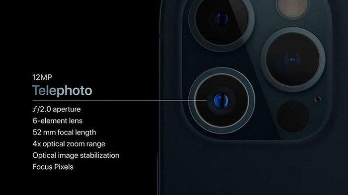 kamera telefoto apple iphone 12 pro - Fitur Eksklusif iPhone 12 Pro yang Tak Ada di iPhone 12