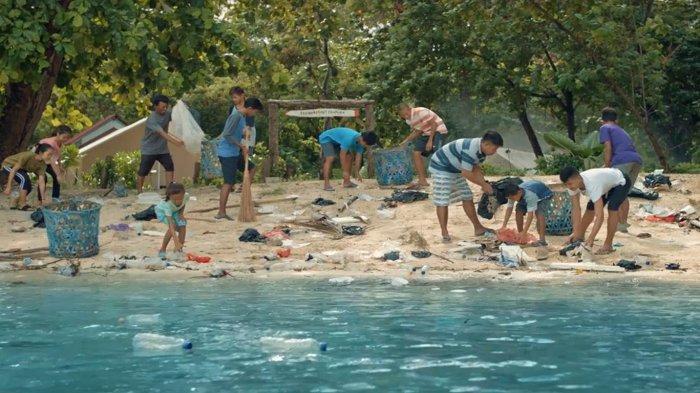 Semangat Kampung Berseri Astra Pulau Pramuka, Inspirasi Kurangi Sampah Plastik