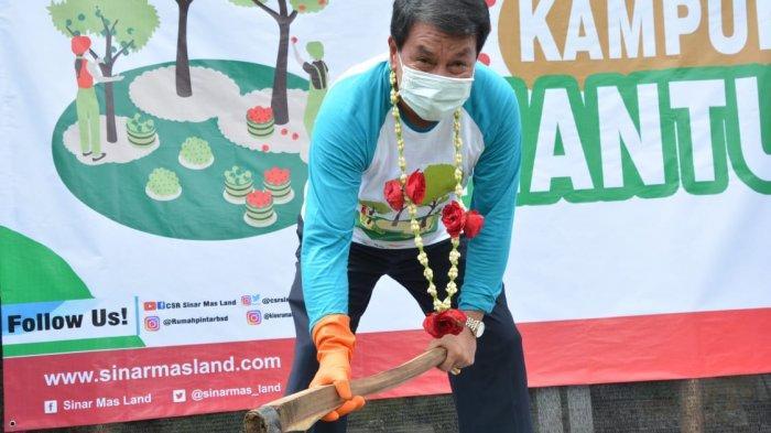 Sekda Kabupaten Tangerang Maesyal Rasyid Resmikan Kampung Mantap Betul