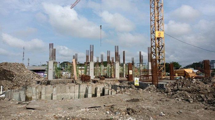 Pembangunan Kampung Susun Bahari Akuarium Baru 10 Persen