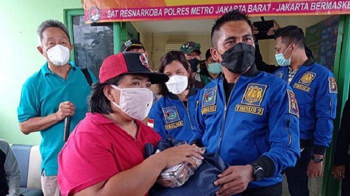 Cegah Covid-19, Timsus 2 Satresnarkoba Polres Metro Jakbar Bentuk Kampung Tangguh Jaya di Kalideres